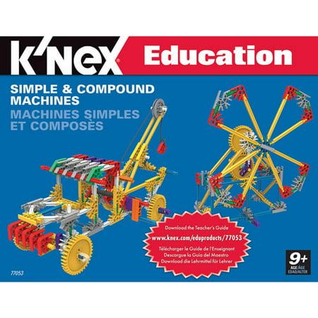 Knex Education  Simple And Compound Machines Building Set