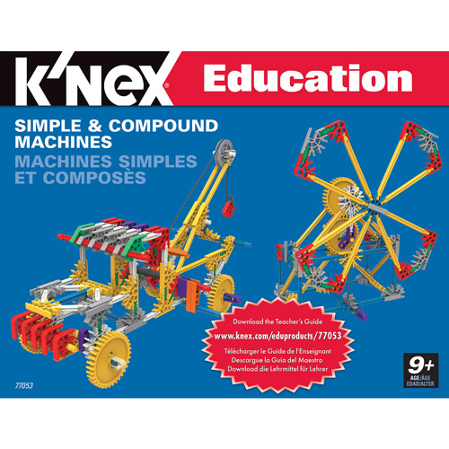 K'NEX Education: Simple and Compound Machines Building Set