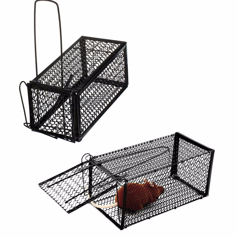 Rodent Animal Mouse Humane Live Trap Control Catch Bait Hamster Cage Mice Rat