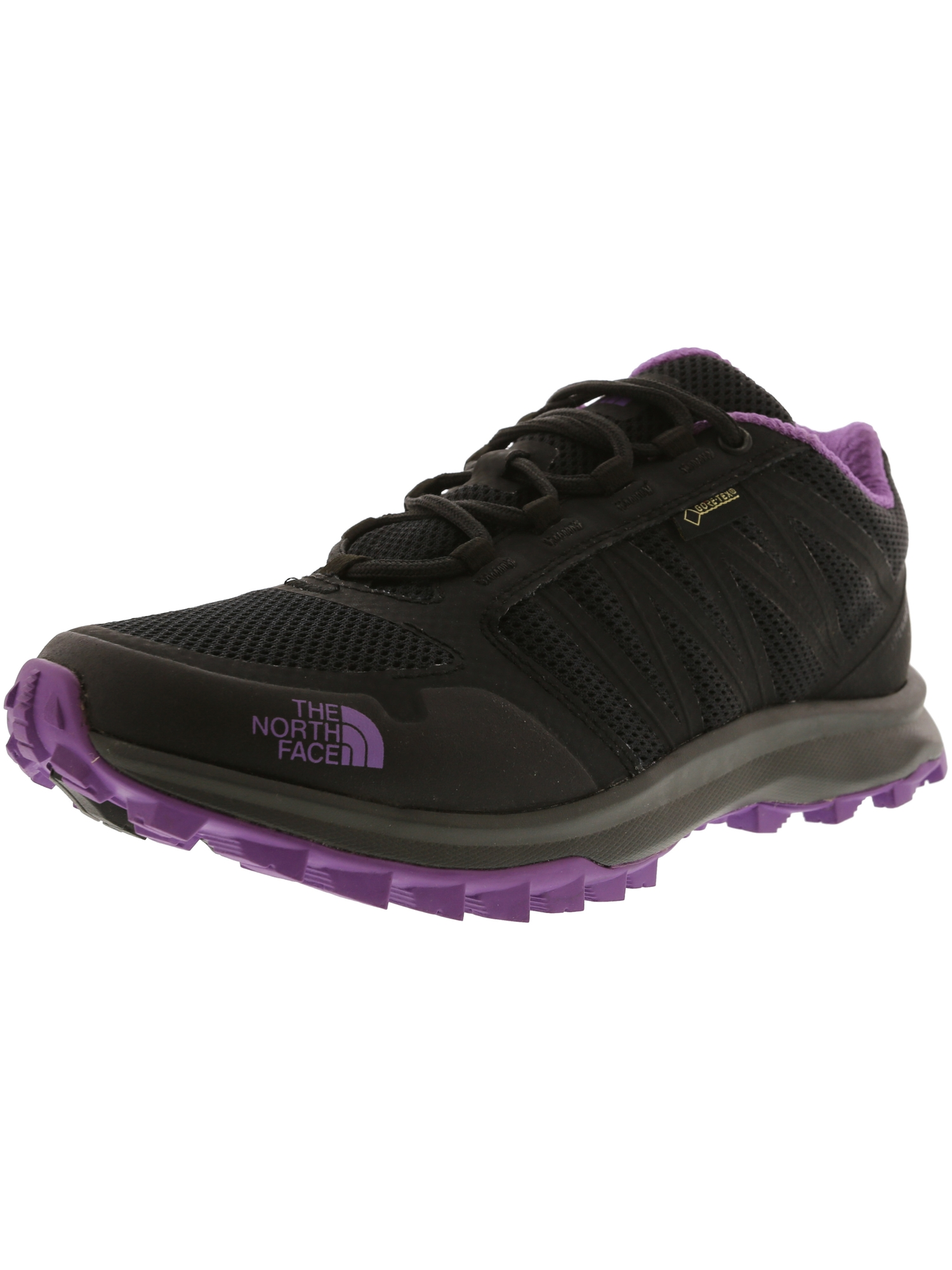 401a3bb42 The North Face Women's Litewave Fp Gtx Phantom Grey / Bellflower Purple  Ankle-High Fabric Trail Runner - 6M