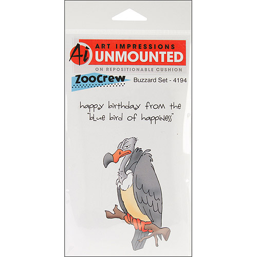 Art Impressions Zoo Crew Cling Rubber Stamp