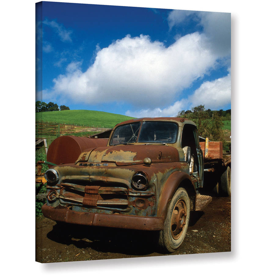 "Kathy Yates ""Old Truck"" Gallery-Wrapped Canvas"