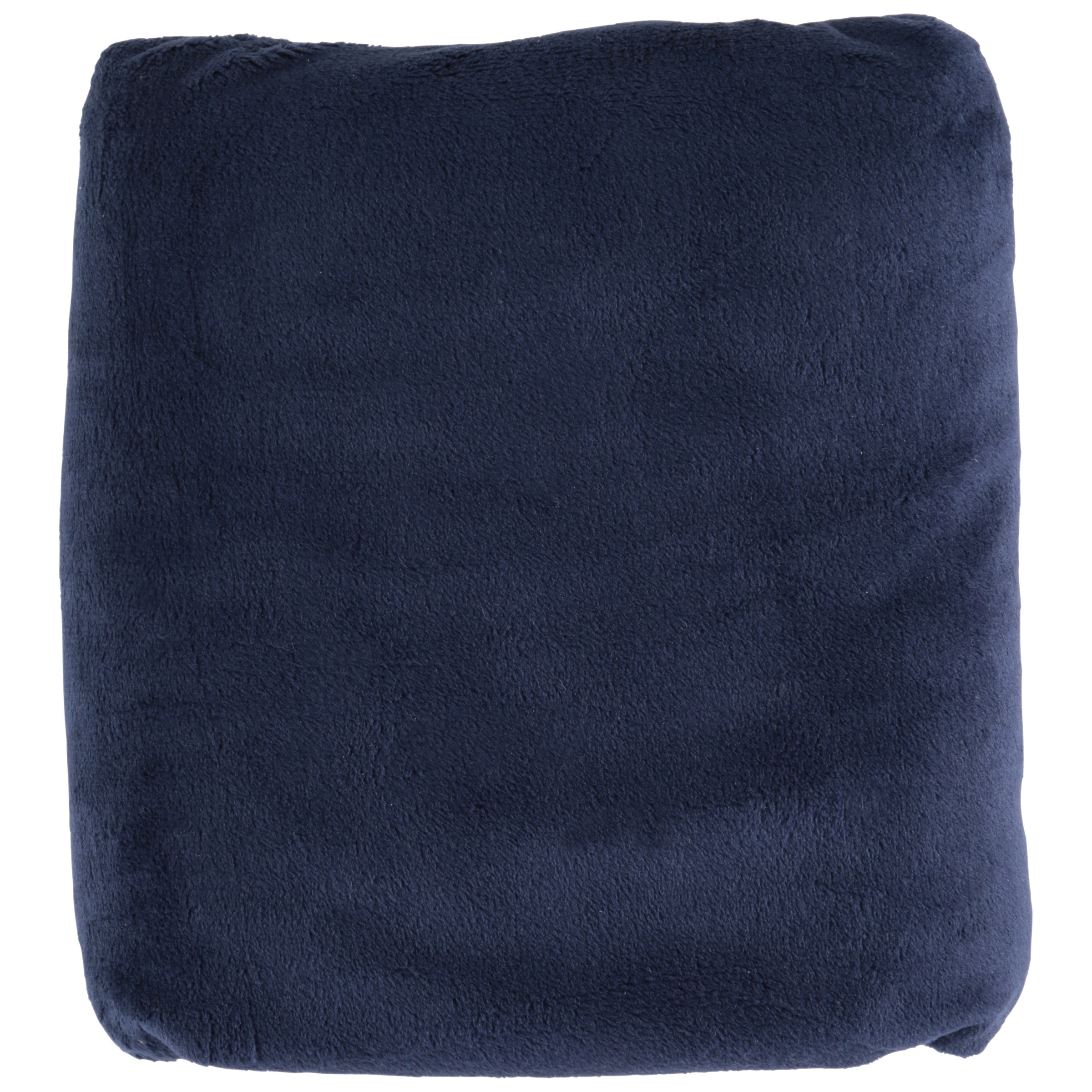 TL Care Heavenly Soft Chenille Fitted Crib Sheet for Standard Crib and Toddler Mattresses, Navy
