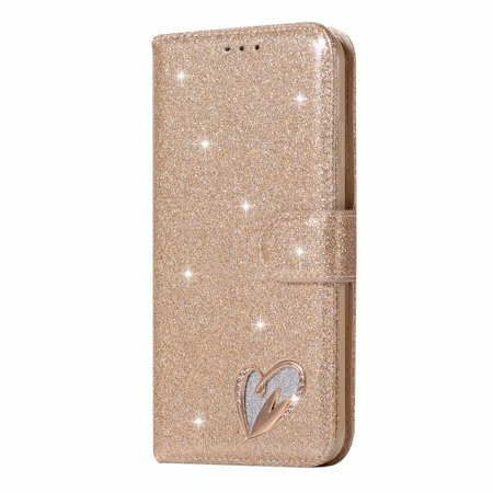 For Apple iPhone XS Max Wallet Leather Glitter Bling Diamond Shockproof  Stand Card Pocket Flip Case Cover - Walmart.com b183c8f48