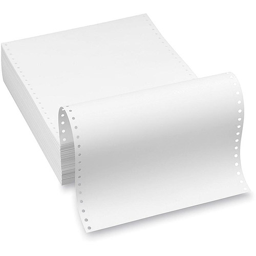 Southworth 1/4 Cotton Continuous Feed Paper