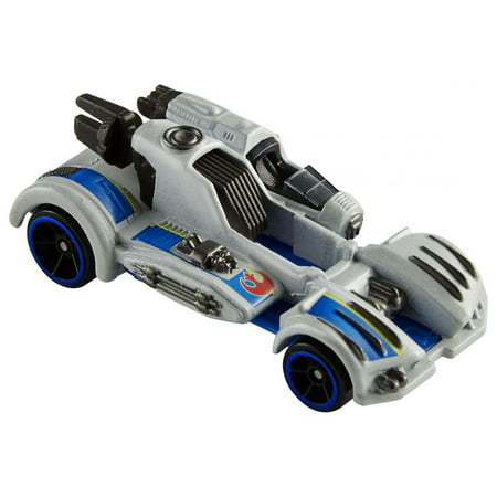 Hot Wheels Star Wars: The Last Jedi Resistance Ski Speeder, Carship - 74 Z Speeder Bike