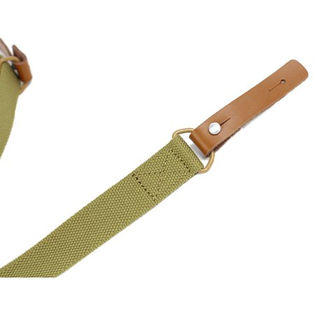 1pc Outdoor Gun sling Strap Hunting Camping Sling Single Point Tactical Belt - image 8 de 9