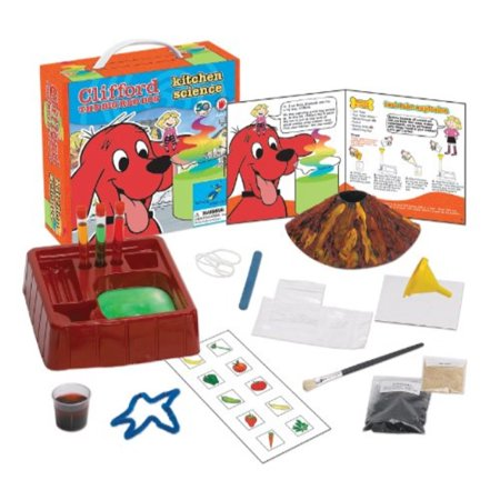 Young Scientist Club Kitchen Science with Clifford The Big Red Dog - Kitchen Science
