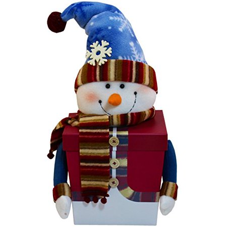 Snowman Gift Box Of Holiday Christmas Treats