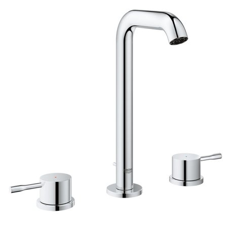 Grohe 2043100A Essence 8-in Widespread Two-Handle L-Size Bathroom Faucet, StarLight Chrome
