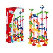 105Pcs DIY Construction Marble Race Run Maze Balls Track Educational Building Blocks Toys for Children
