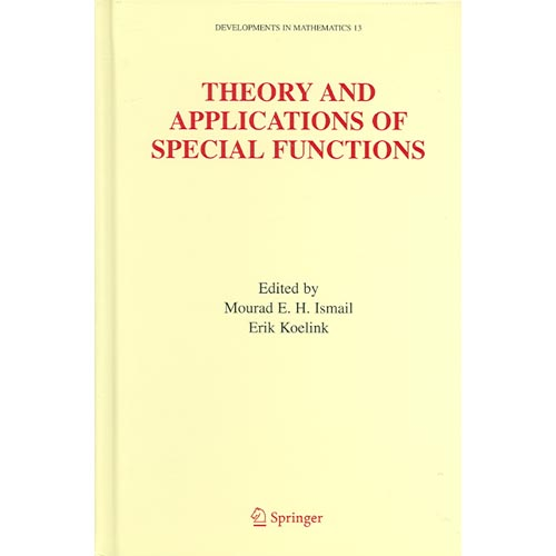 Theory And Applications of Special Function: A Volume Dedicated to Mizan Rahman