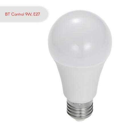 Smart LED Light Bulb RGB Multicolor LED Bulb 7W E27 Light Wireless BT Dimmable Light Phone Remote Control Lamp Bulb - image 7 of 7