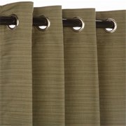 Pawleys Island CUR120DLGRS-PI Curtain with Grommets
