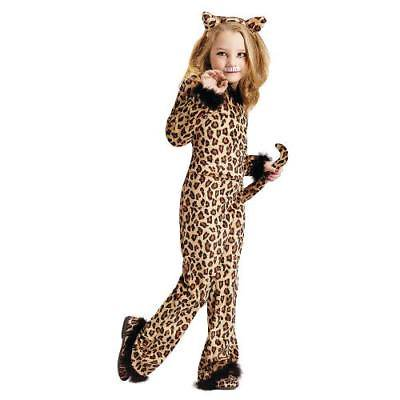 IN-MC1052TD34 Girls Pretty Leopard Halloween Costume for Toddlers TODDLER 3T-4T