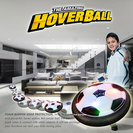 - Indoor Toy HOVER BALL Soccer Air Hockey Foam Bumper For all Ages GIFT Christmas For Boys and Girls