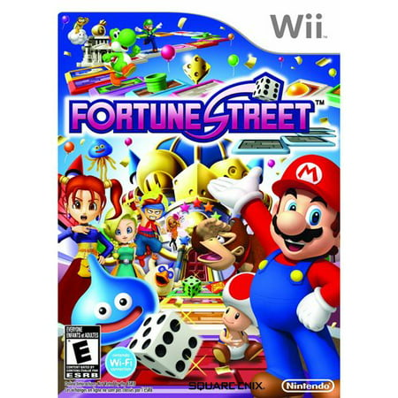Fortune Street - WII (Wii Sesame Street Game)
