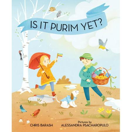 Purim Jewish Halloween (Is It Purim Yet? - eBook)