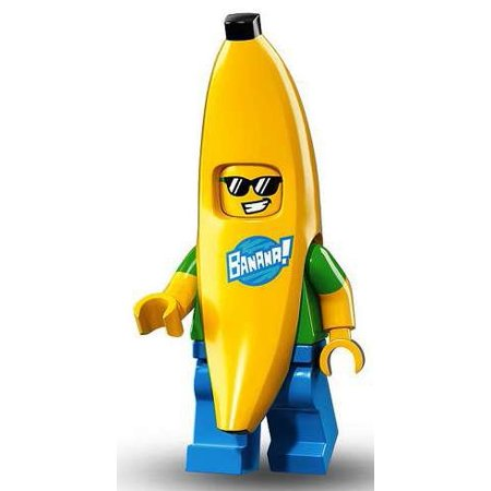 LEGO Series 16 Collectible Minifigures - Banana Guy Suit (71013)](Suits Guys)