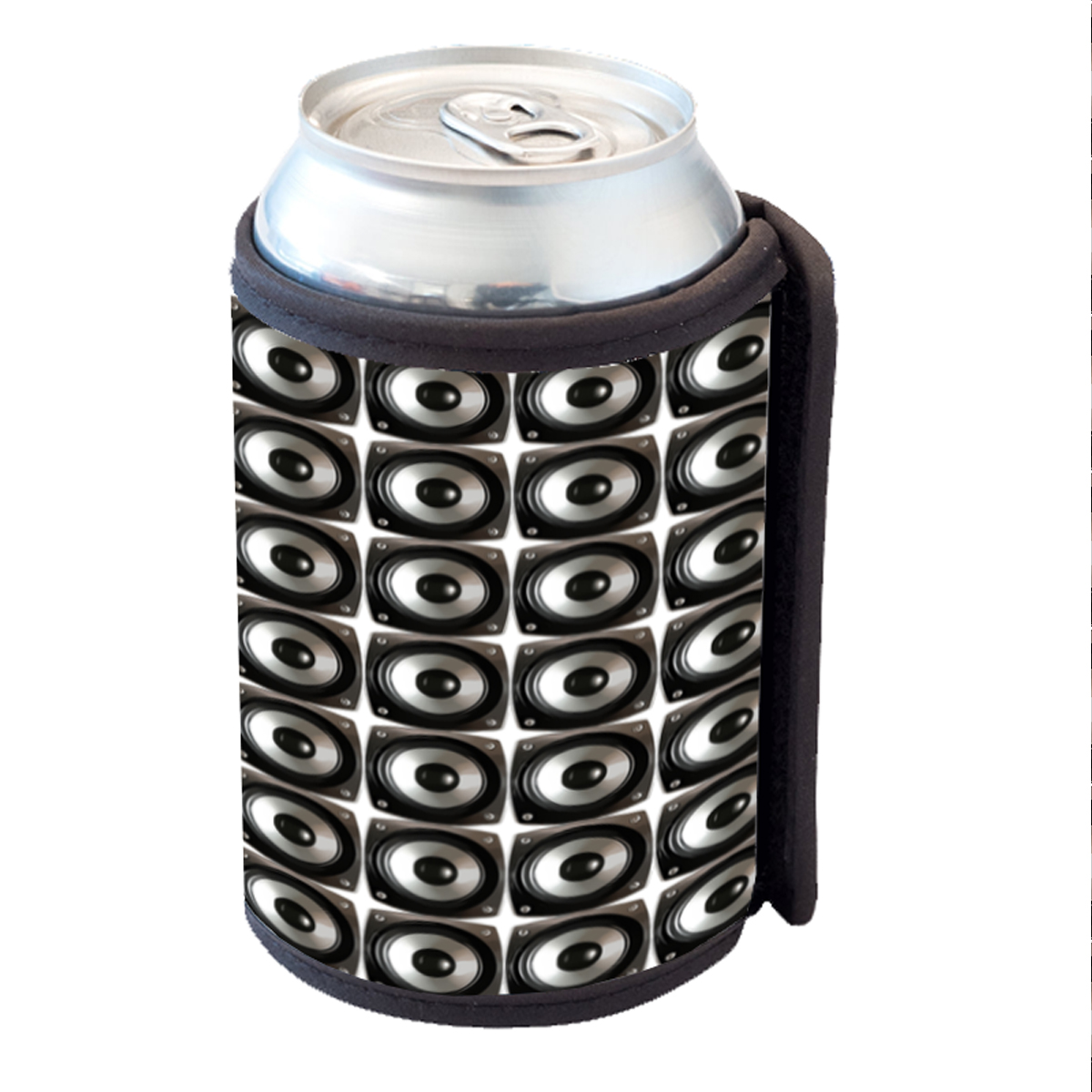 KuzmarK Insulated Drink Can Cooler Hugger - Speaker Speakers