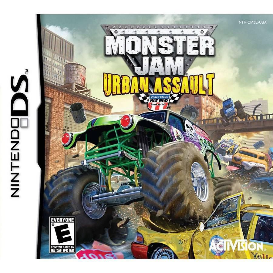 Monster Jam 2-Urban Assault (DS) - Pre-Owned