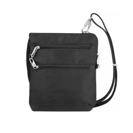 Travelon Anti Theft Crossbody Messenger Bag RFID Clutch Women Travel Wallet