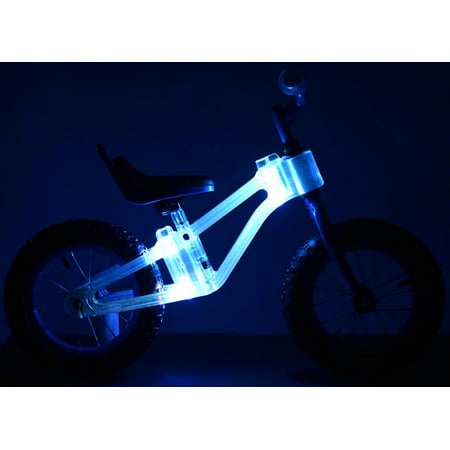 Colored Led Lights >> Kazam 12 Blinki Balance Child S Bike With Multi Colored Led Lights Purple For Height Sizes 2 0 And Up Ages 2 5