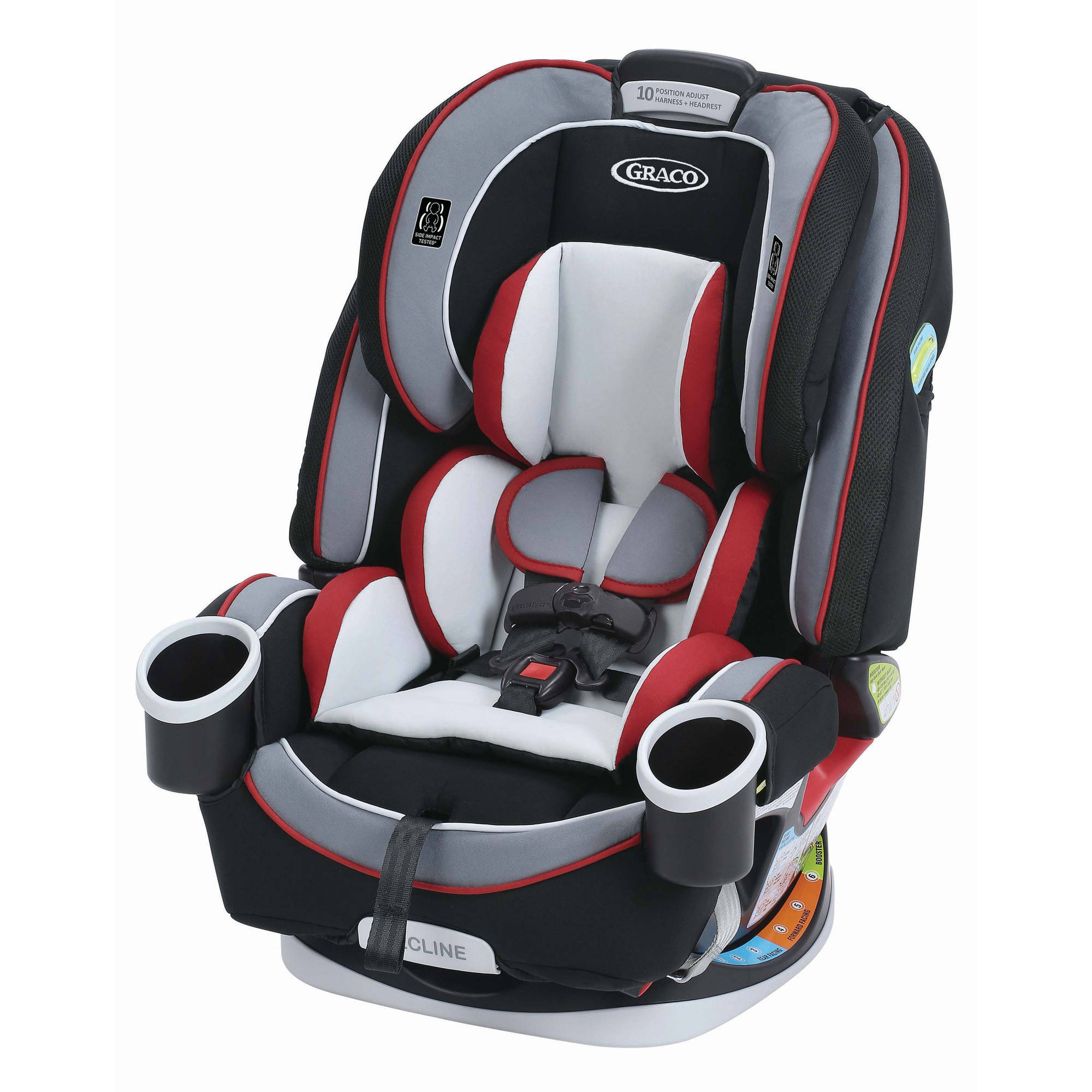 Graco 4Ever All-in-1 Convertible Car Seat, Cougar