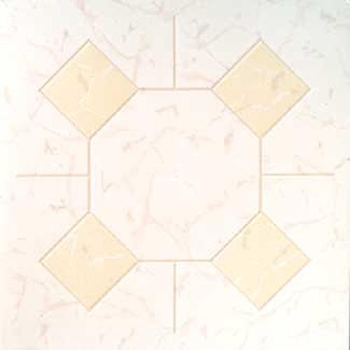 "Home Dynamix Madison Vinyl Tiles - 6211 Ivory Marble Diamond - (1-Pack, 12"" x 12"")"
