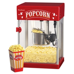 West Bend Stir Crazy 82512 Popcorn Maker - Oil - 1.50 gal