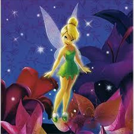 Tinker Bell Lunch Napkins (16ct)](Tinkerbell Plates)