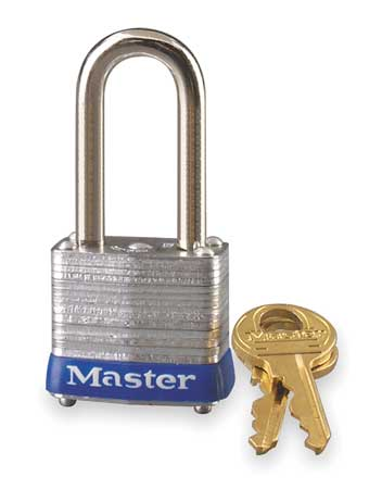 "Master Lock 7LF Different Keyed Padlock, 1-1 8""W by Master Lock"
