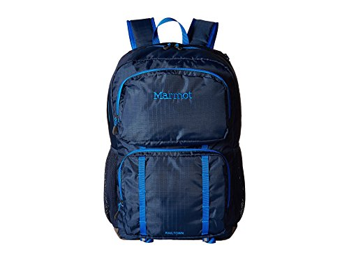 Marmot Unisex Railtown Backpack, Vintage Navy Cobalt Blue, One Size by Marmot