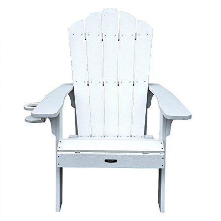 Fine 4 Adirondack Chairs White All Weather Polyresin Lumber Traditional Wide Arm Rests Curved Seat High Back Island Retreat Bralicious Painted Fabric Chair Ideas Braliciousco