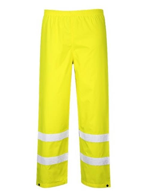 Portwest S480 4XL Hi-Visibility Waterproof Traffic Trouser, Yellow - Regular