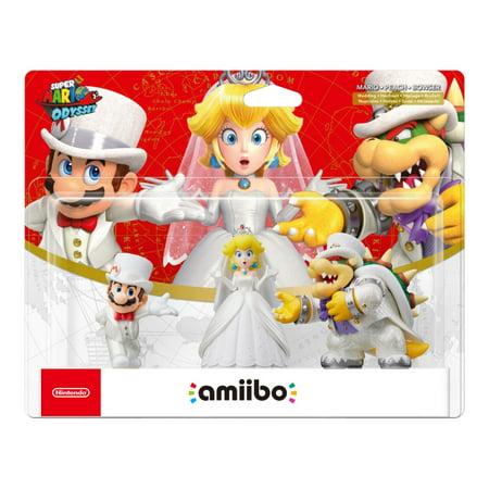 Wedding Outfit 3-Pk, Super Mario Odyssey Series, Nintendo amiibo, NVLEAB3A