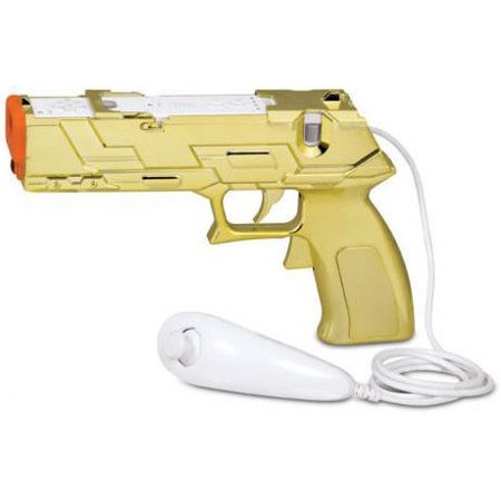 Wii Quick Shot PLUS Gold (Gold Wiimote)