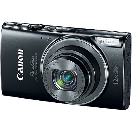 Canon PowerShot ELPH 350 HS Digital Camera with 20.2 Megapixels and 12x Optical