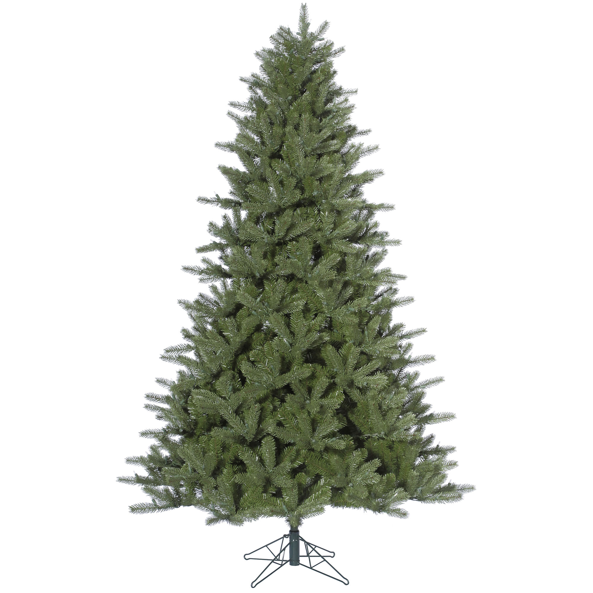 "Vickerman Artificial Christmas Tree 9' x 64"" Kennedy Fir 2671 Tips / 2)ctn"