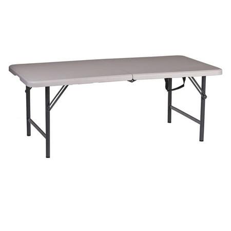 48 Inch Width Rectangular Table (Folding Table, White, 48