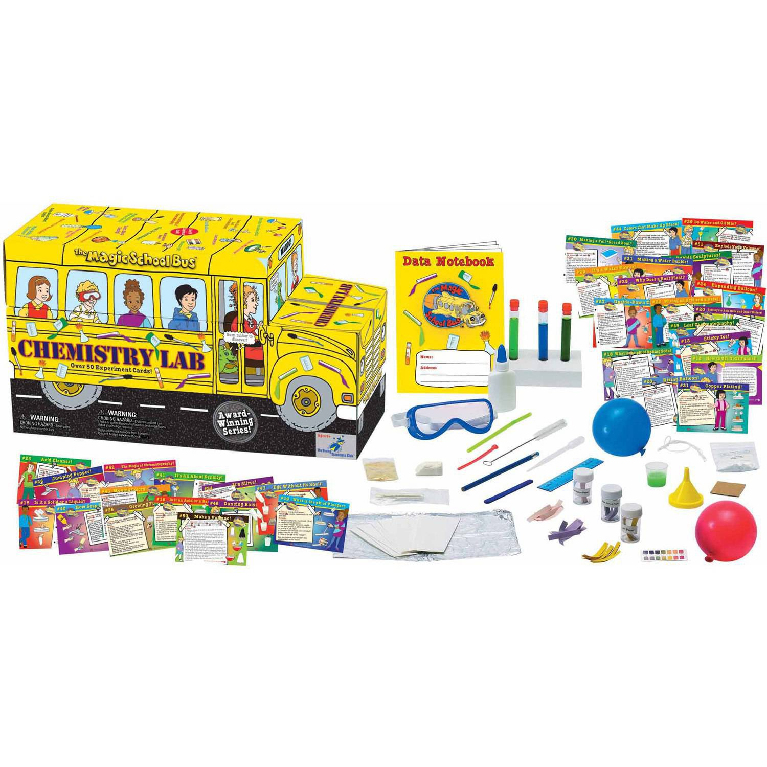 Young Scientist Club The Magic School Bus, Chemistry Lab