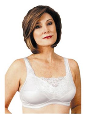 9cc1dbc646 Product Image Classique 765SE Post Mastectomy Fashion Bra-White-44A