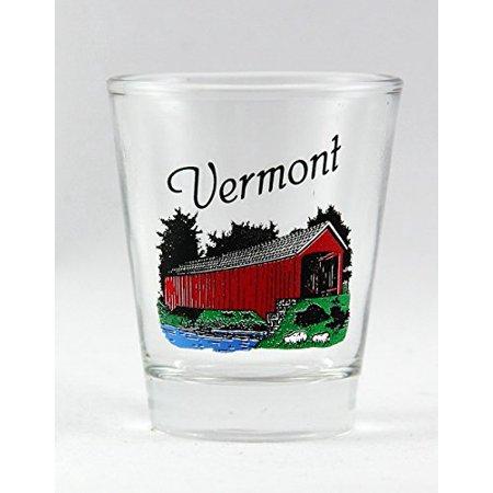 Vermont Covered Bridge Shot Glass ()