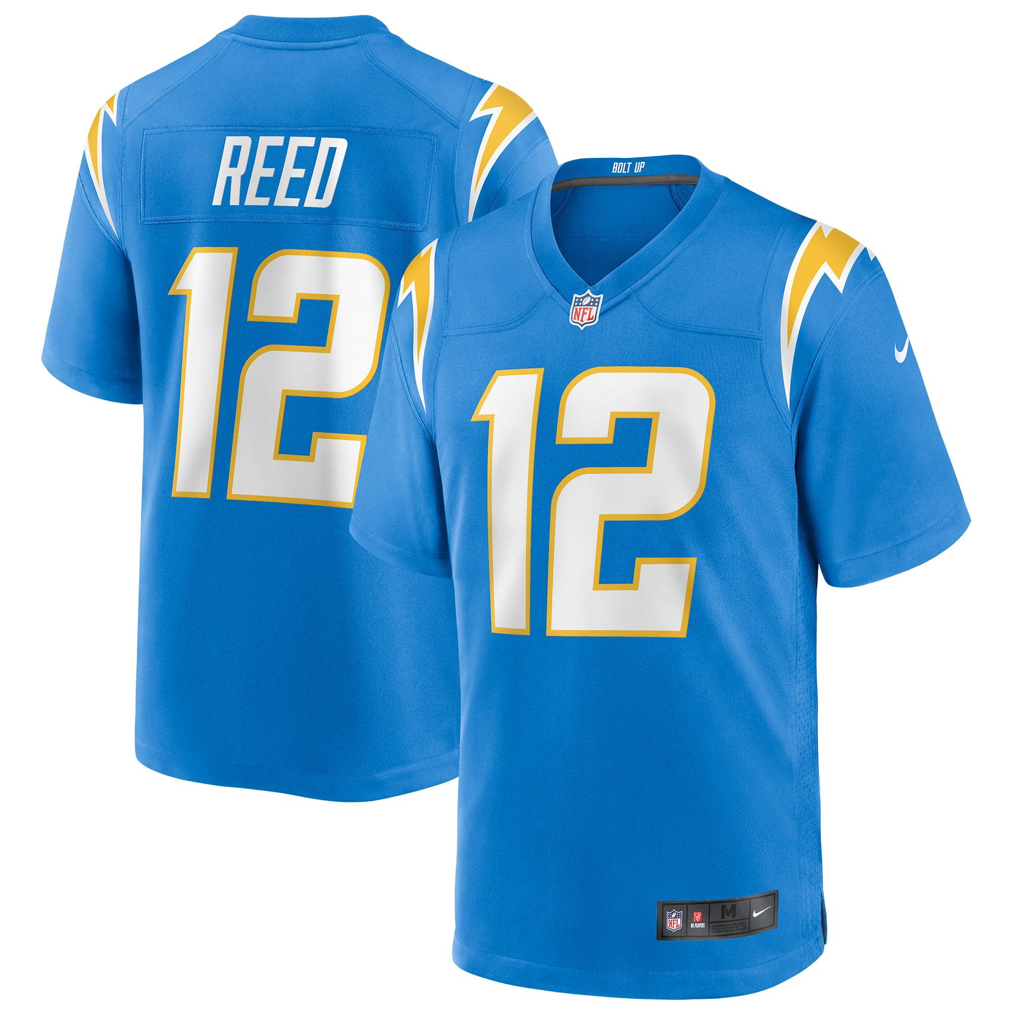 Joe Reed Los Angeles Chargers Nike Player Game Jersey - Powder Blue - Walmart.com