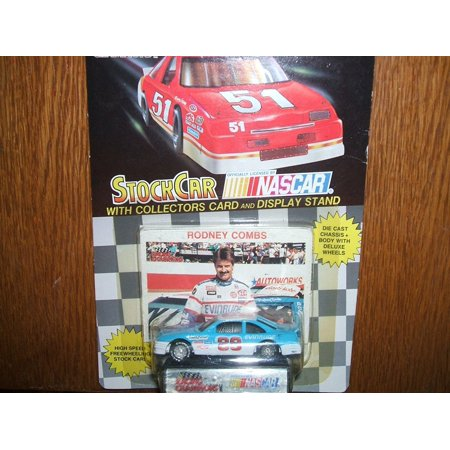 1991 Racing Champions . . . Rodney Combs #89 Evinrude 1/64 Diecast . . . Includes Display Stand and Collectors Card, NASCAR DRIVER By Nascar - Nascar Driver Halloween