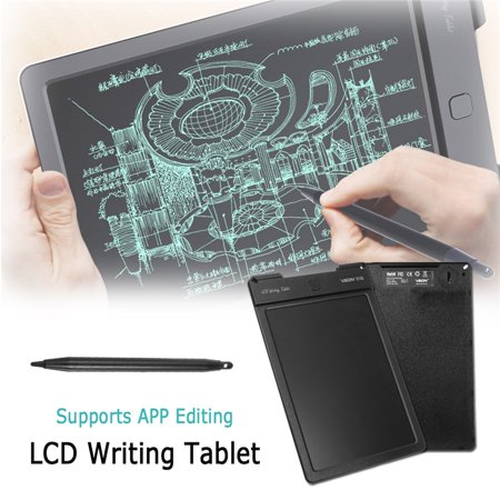9 inch LCD Writing Drawing Pad Tablet Rewritable Artwork Draft APP Painting Edit with Stylus for Kids and Business Kids Childrens