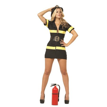 3 Pc. Adult Fire Fighter Costume