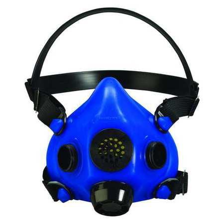 HONEYWELL NORTH Half Mask Respirator,Threaded,L RU85001L