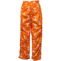 Tennessee Volunteers Preschool Tennessee Orange Team Logo Flannel Pajama Pants