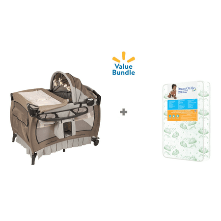 Baby Trend Deluxe II Playard and Mattress Value -